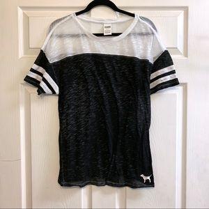 PINK Victoria's Secret Sheer Shirt